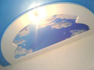 """Фотопечать """"Небо"""". Цветной глянцевый. Гипсокартон. Свердловская область."""