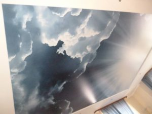 """Фотопечать """"Небо"""" Сатин."""