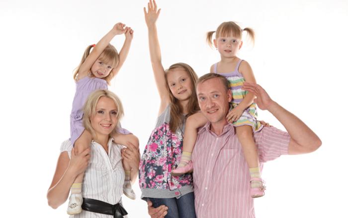 Скидка многодетным семьям 5%