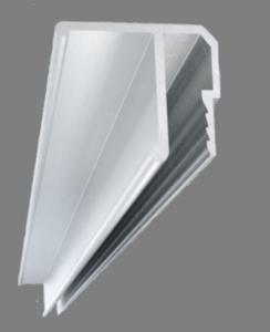 багет алюминиевый потолочный