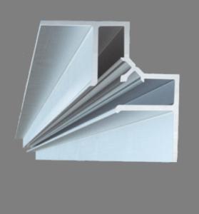 Багет алюминиевый разделительный угловой