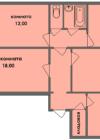 4-комнатная квартира Планировки квартир серии 121