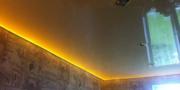 Лента светодиодная за потолком 1