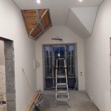 4 этап Установка потолка